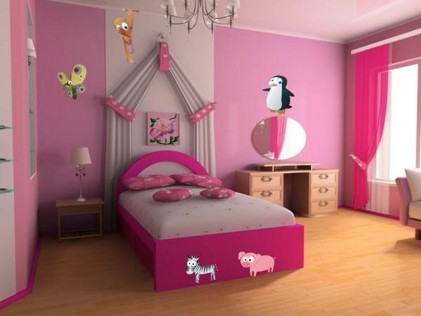 ремонт детской комнаты для девочки фото