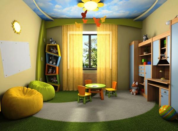 ремонт детской комнаты для мальчика фото