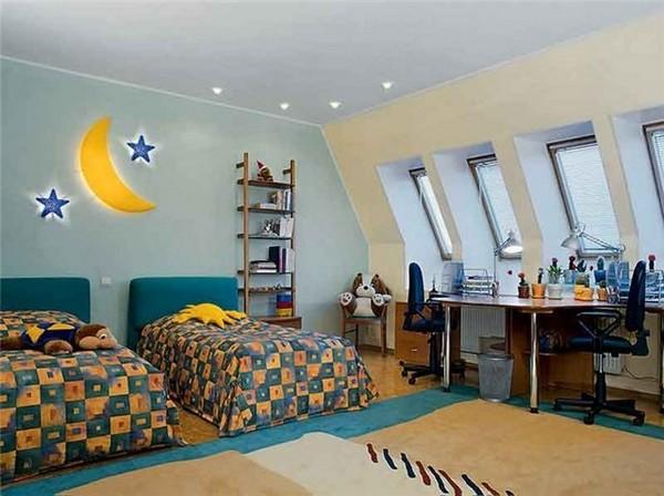 ремонт детской комнаты для разнополых детей фото