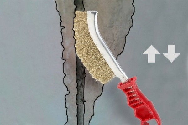 заделка швов между плитами перекрытия на потолке фото