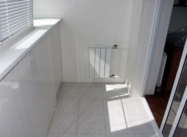 теплый пол на балконе своими руками фото