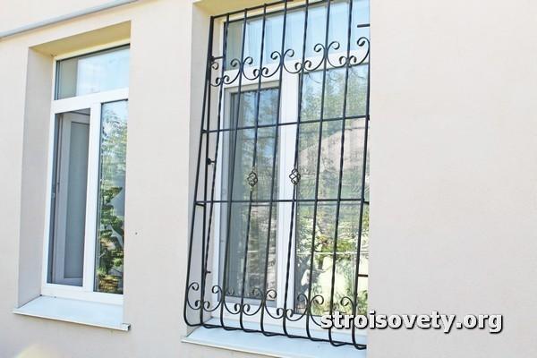 как изготовить решетки на окна фото