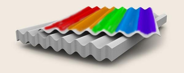 Чем покрасить шифер: материалы и технология покраски