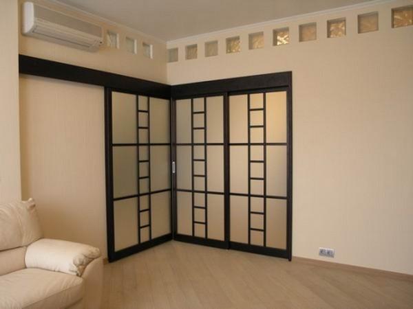 угловые двери в комнату фото при желании можно