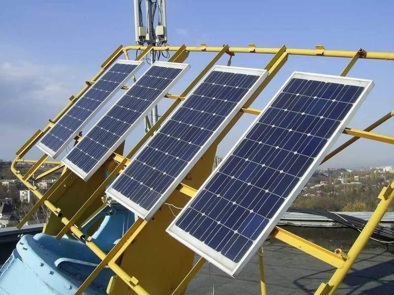 автономная солнечная электростанция для дома фото