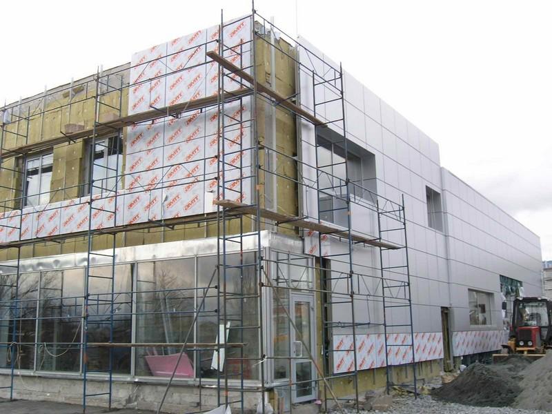 теплоизоляция вентилируемых фасадов фото