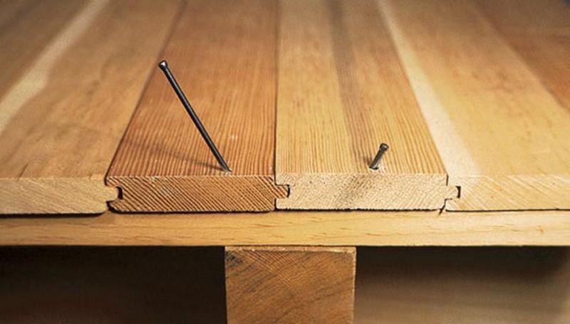 деревянный пол своими руками фото
