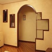 Фото как сделать арку в дверном фото 323
