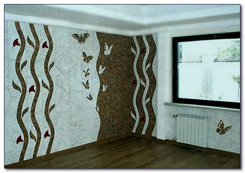 покрытие из пробки для стен фото