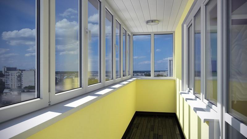 Теплый балкон: принцип изготовления