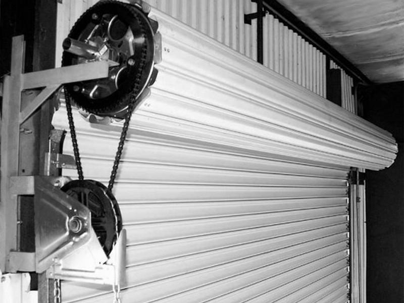 конструкция рольставен для гаража фото