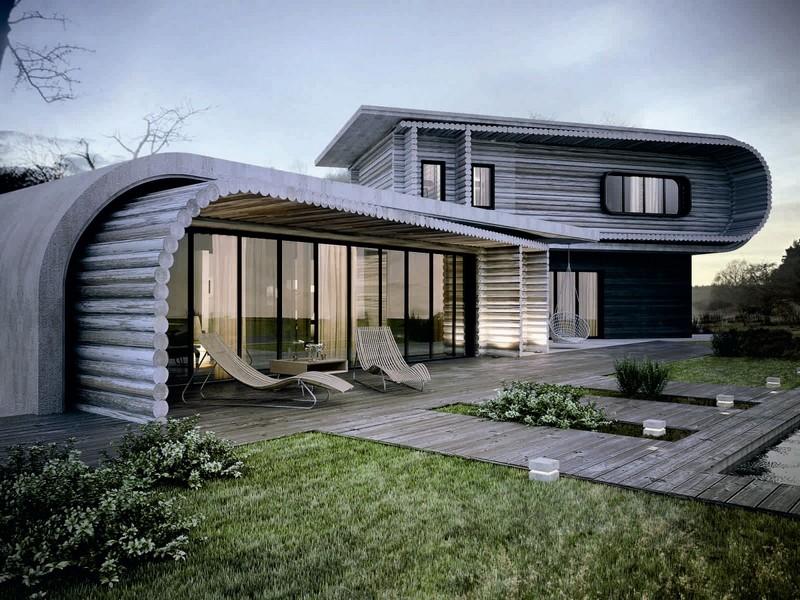 особенности домов в современном стиле фото