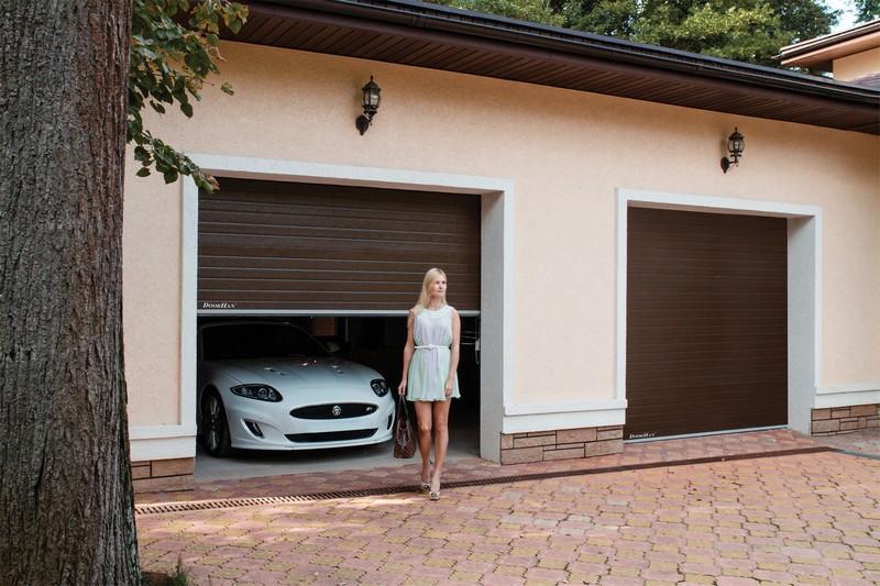Рольставни для гаража своими руками фото