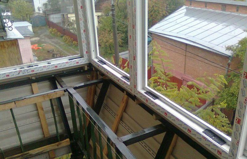 теплый балкон своими руками фото