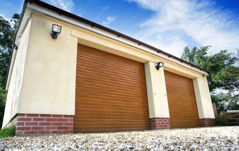 ворота рольставни на гараж своими руками фото