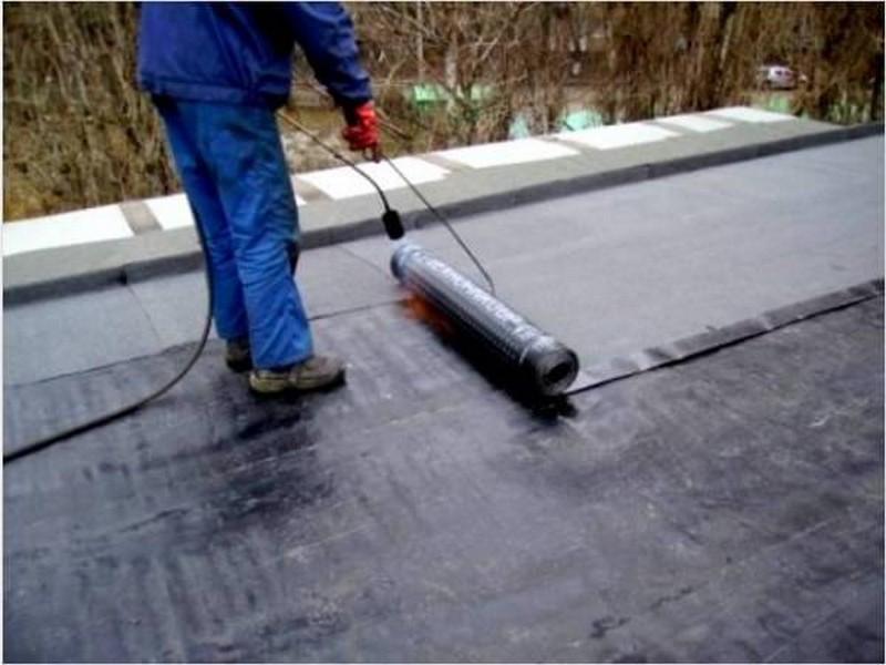 покрытие крыши гаража фото