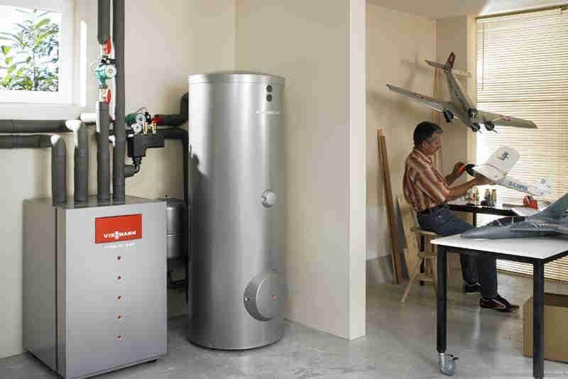 геотермальное отопление частного дома фото