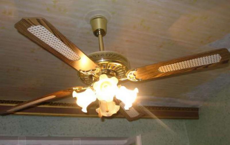 Потолочный вентилятор своими руками: как выбрать и установить