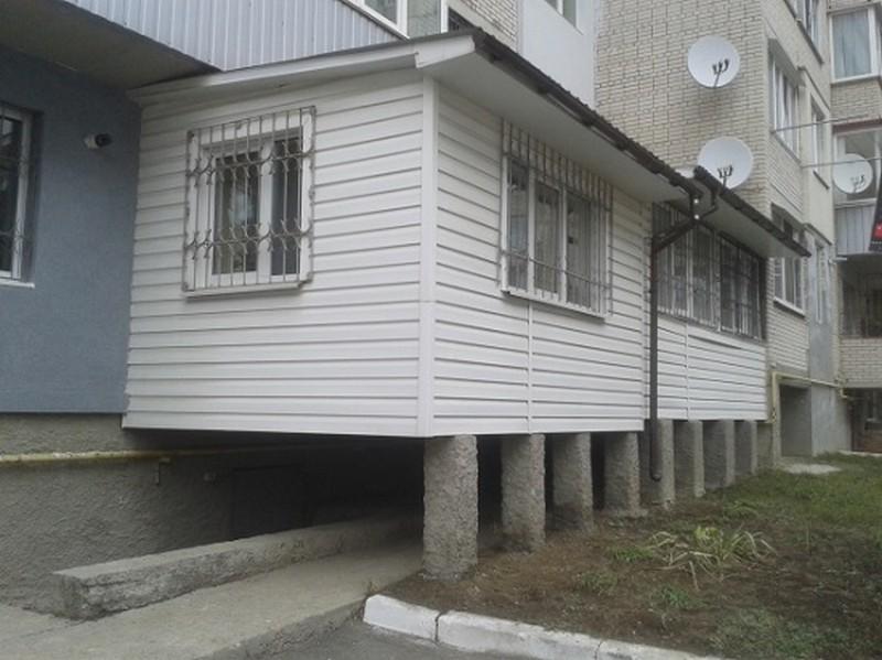 как сделать балкон в квартире фото