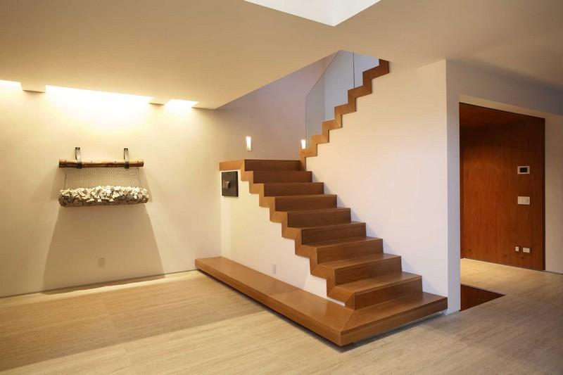 как сделать двухмаршевую лестницу фото