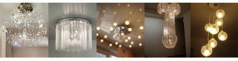 Как выбрать люстру для натяжного потолка и установить ее