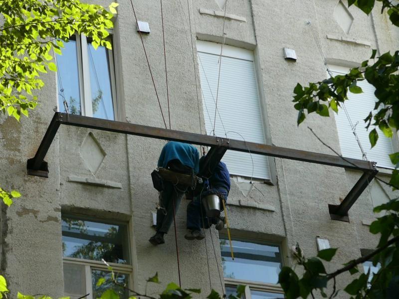 монтаж балкона своими руками фото
