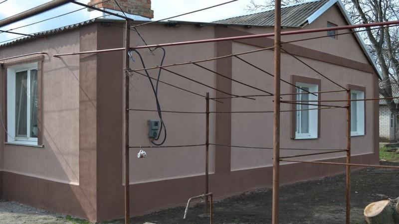 монтаж пенопласта на фасад фото