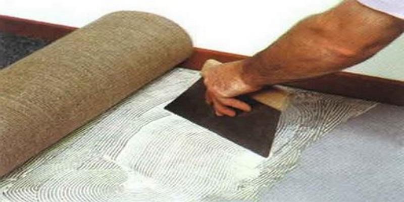 подложка под ковролин на бетонный пол фото