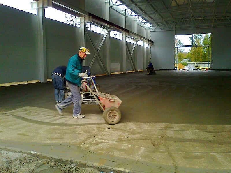 топпинг для бетонного пола фото