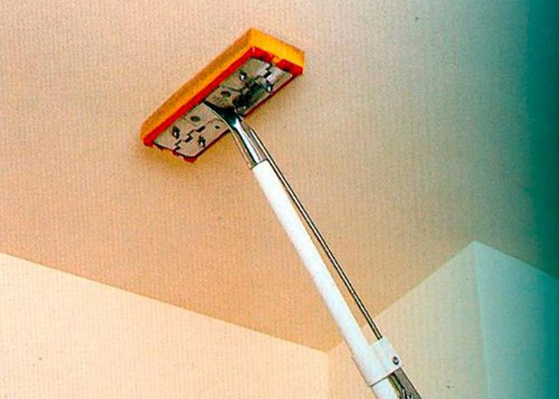 как снять водоэмульсионную краску со стен фото