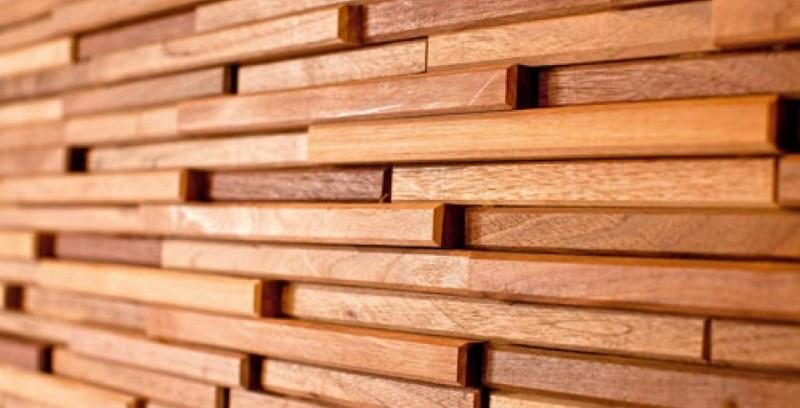 плитка из дерева для стен фото