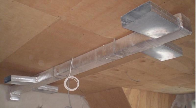 воздушное отопление частного дома фото