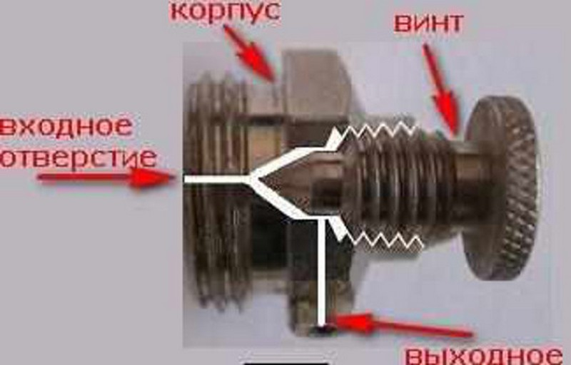 как пользоваться краном маевского фото