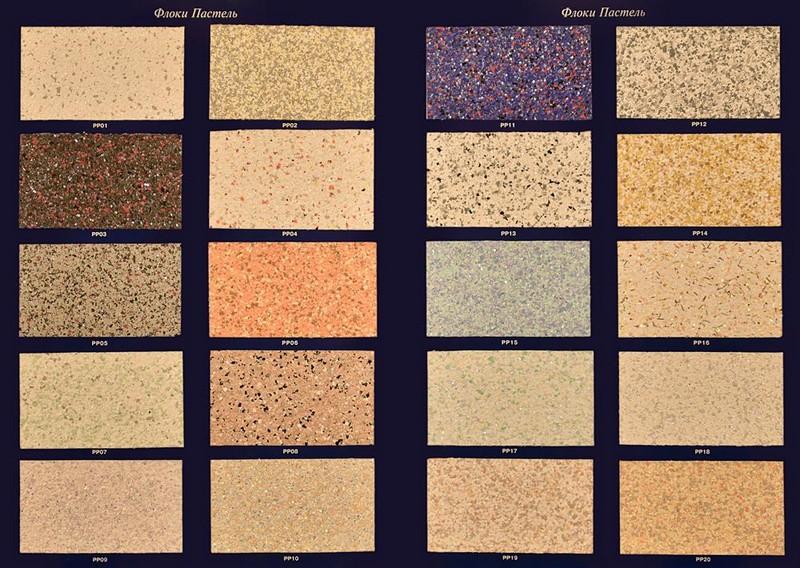 декоративное флоковое покрытие фото