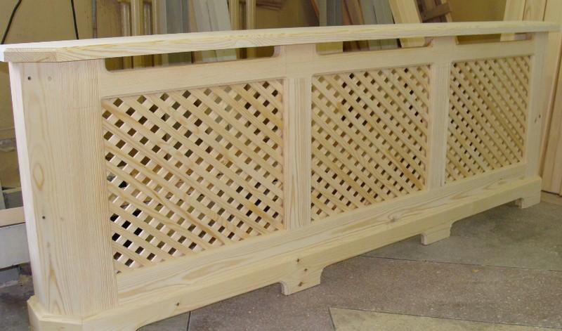 Изготовление деревянных решеток фото