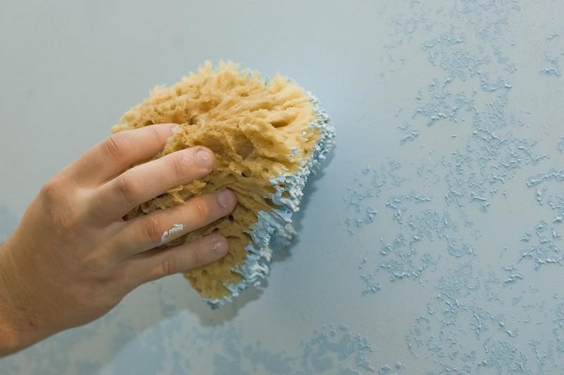 как нанести марокканскую штукатурку своими руками фото