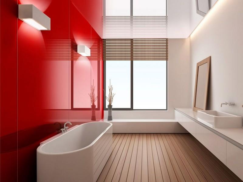 стеклянные панели в ванной фото