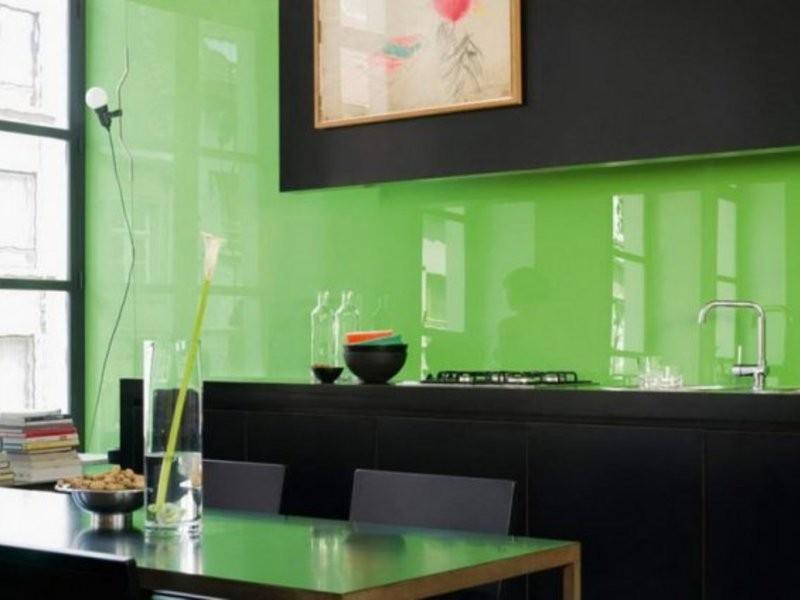 стеновые стеклянные панели фото