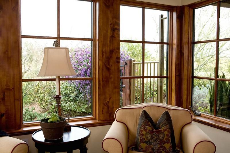 деревянные окна со шпросами фото