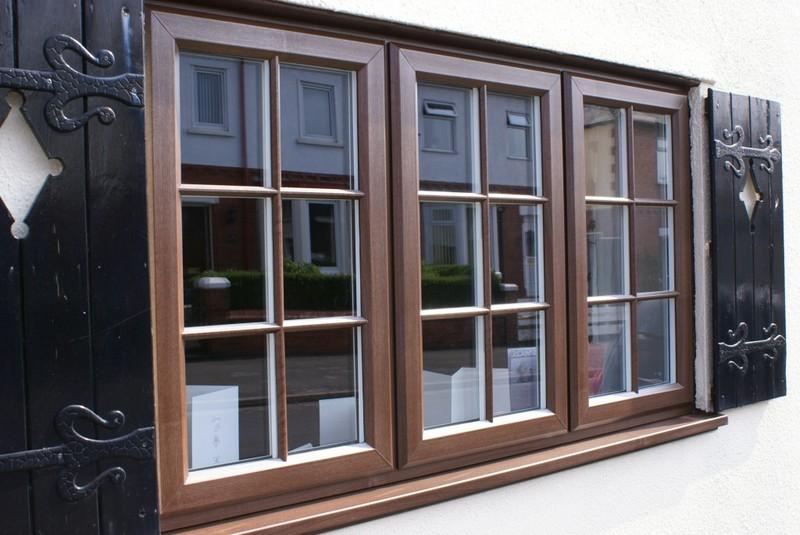 как выглядят окна со шпросами фото