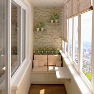 Чем отделать стены на балконе: выбираем лучший вариант