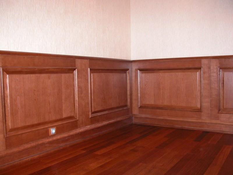 шпонированные стеновые панели фото