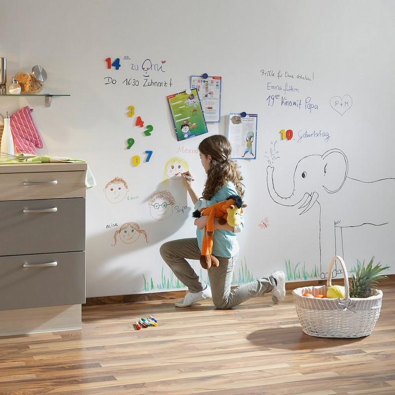 как сделать маркерную стену