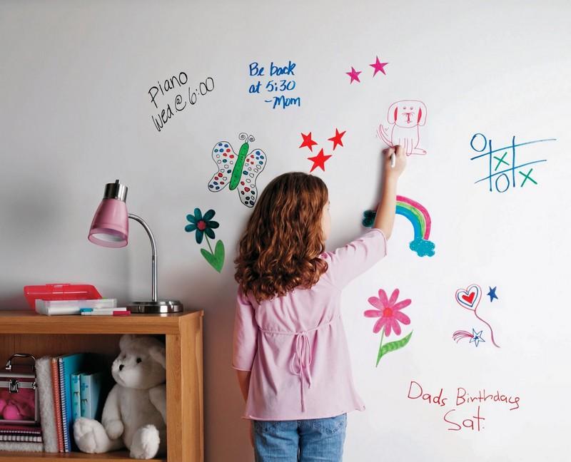 стена для рисования маркерами фото