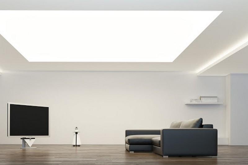 что такое световой натяжной потолок