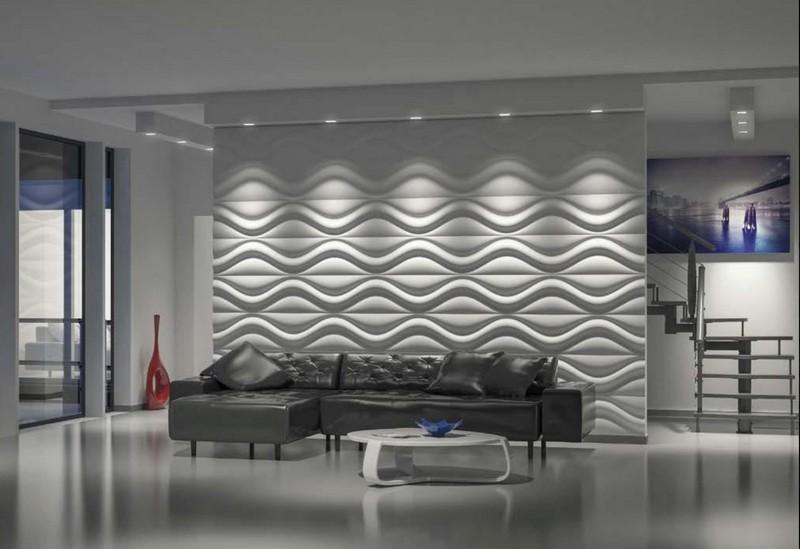 идеи оформления стен в гостиной фото