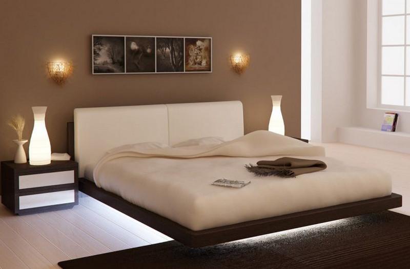 подсветка пола в спальне фото