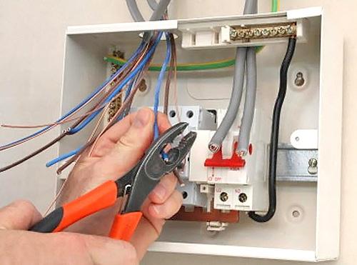электропроводка в квартире распределительный щиток