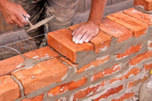 кирпичная кладка внутренних стен
