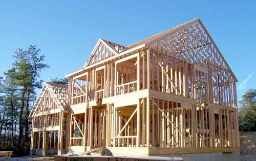 варианты стен дома каркасное строительство